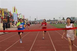 Bế mạc Giải điền kinh học sinh phổ thông tỉnh Quảng Ninh năm học 2018-2019